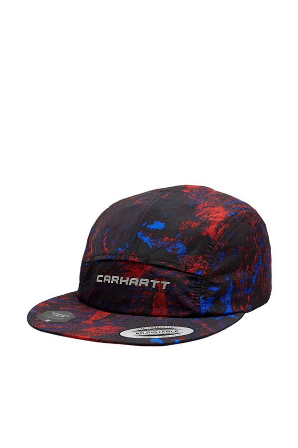 Carhartt Hats Baseball I028882 Satellite Print / Black