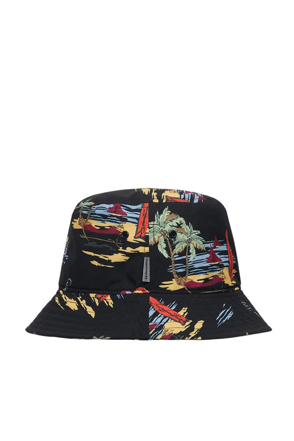 Carhartt Fisherman hat Beach Print / Black