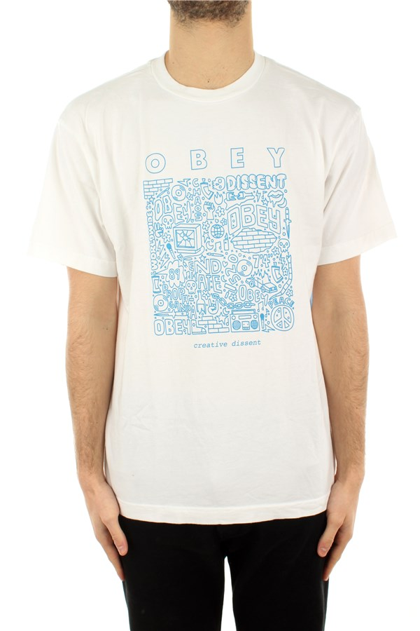 Obey T-shirt Short sleeve Man 163002586 0