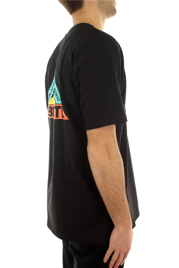 Obey Short sleeve Black