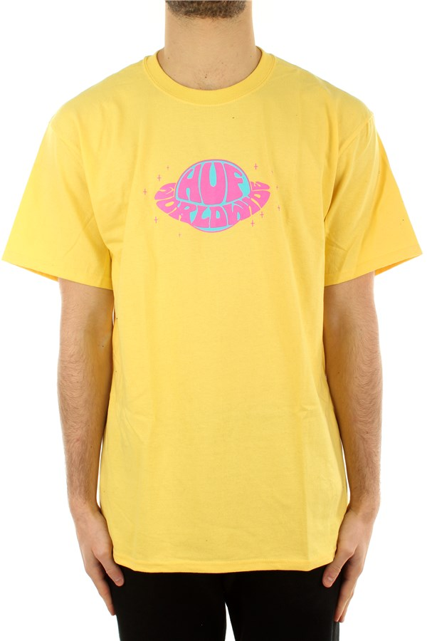Huf Short sleeve Yellow