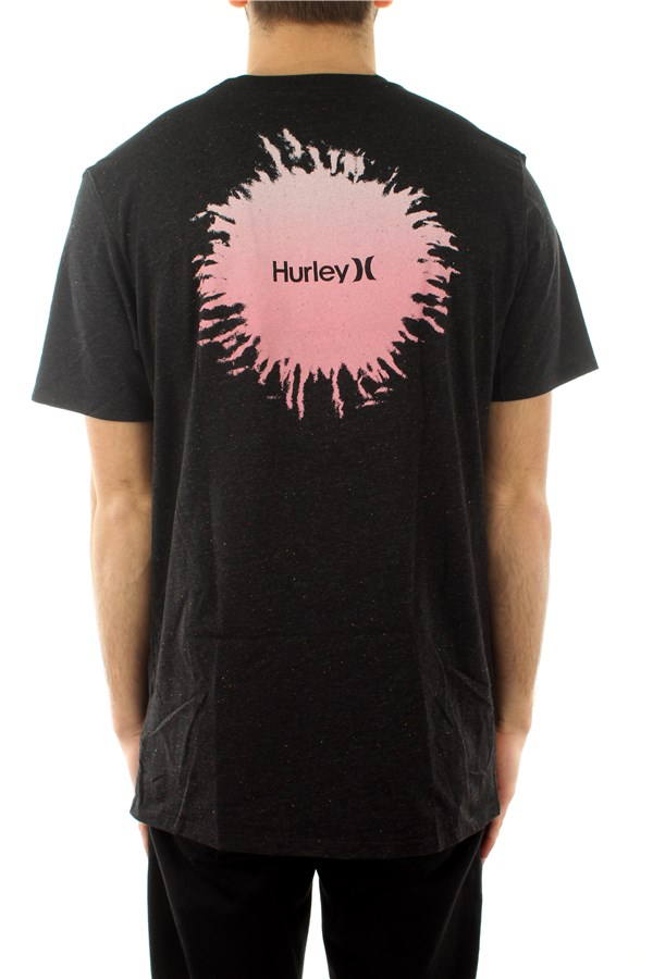 Hurley Short sleeve Black / multi-color