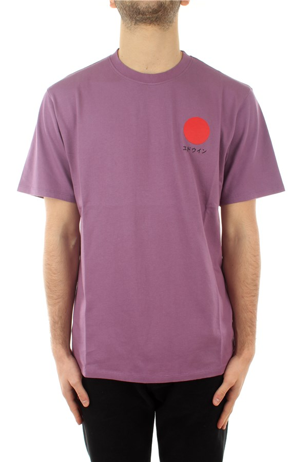 Edwin Short sleeve Chinese Violet