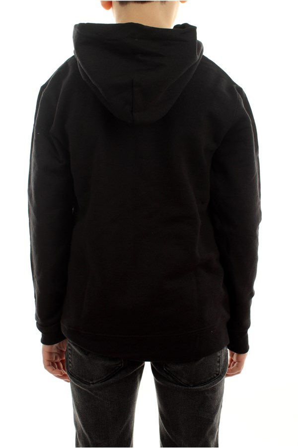 Thrasher Sweatshirts Hooded Children E35YTHRFLABLK 2
