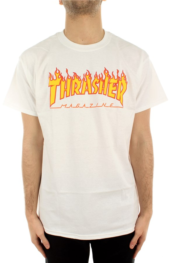 Thrasher Short sleeve White