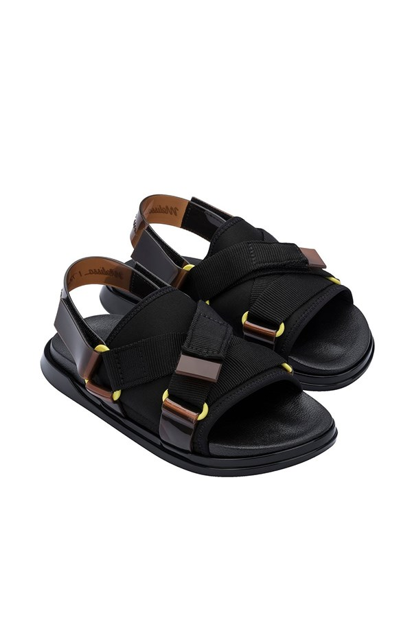 Melissa low Black / brown / yellow