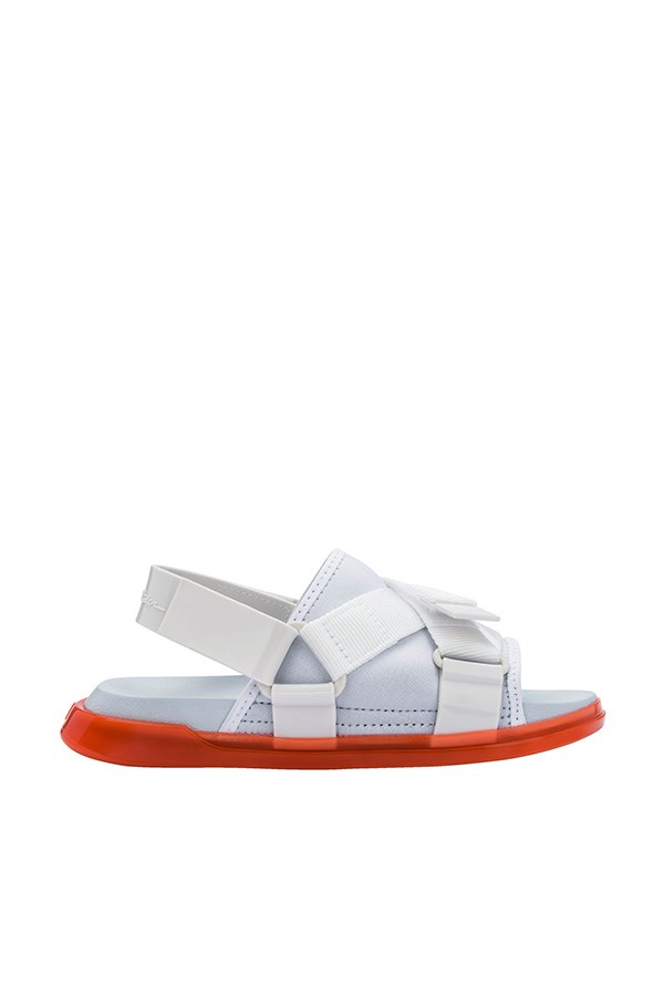 Melissa low Orange / white