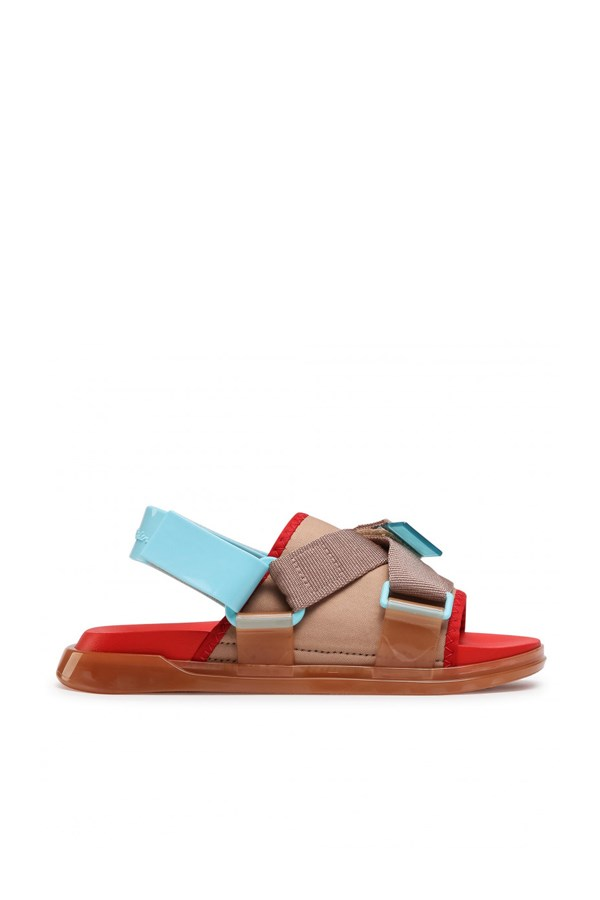 Melissa low Brown / red / blue