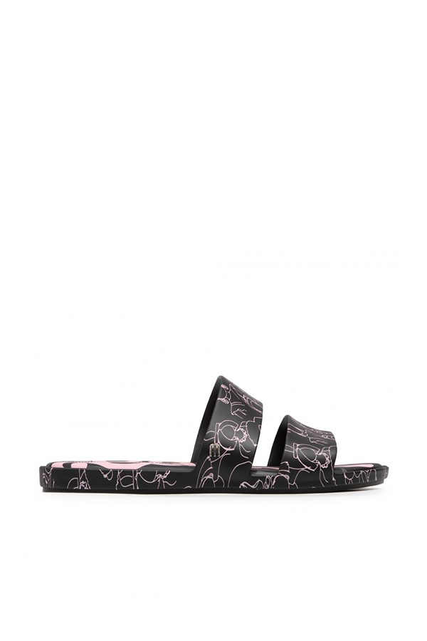 Melissa low Black / pink