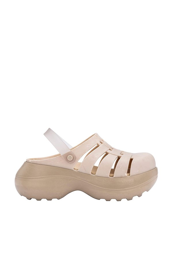 Melissa With wedge Beige / mix
