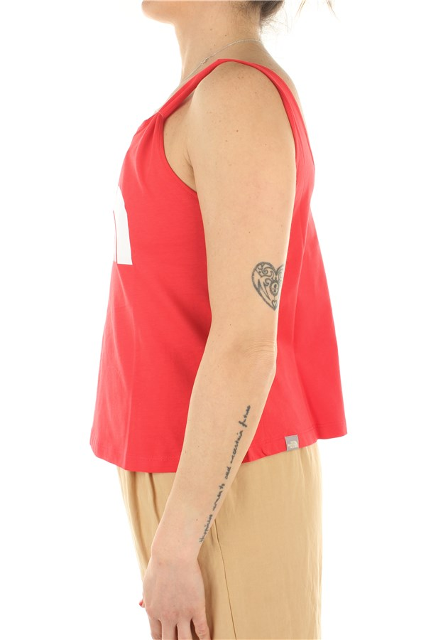 The North Face Tanks Horizon Red