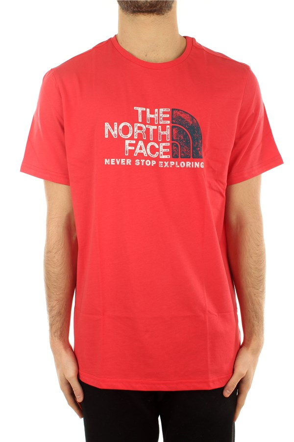 The North Face Short sleeve Rococco Red