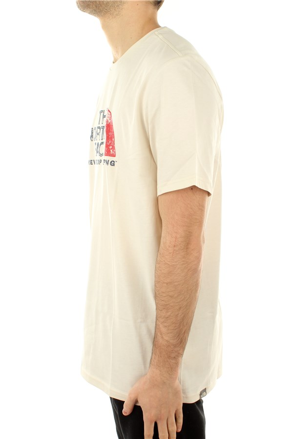 The North Face Short sleeve Vintage White