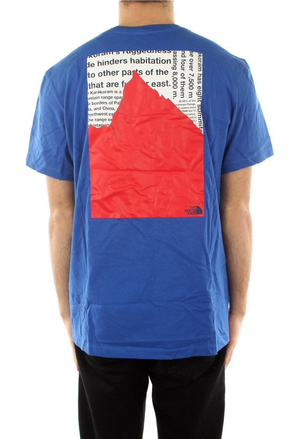 The North Face Short sleeve Tnf Blue / tnf Blue