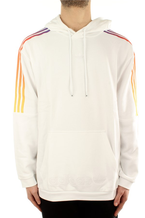 Adidas Hooded White / multco
