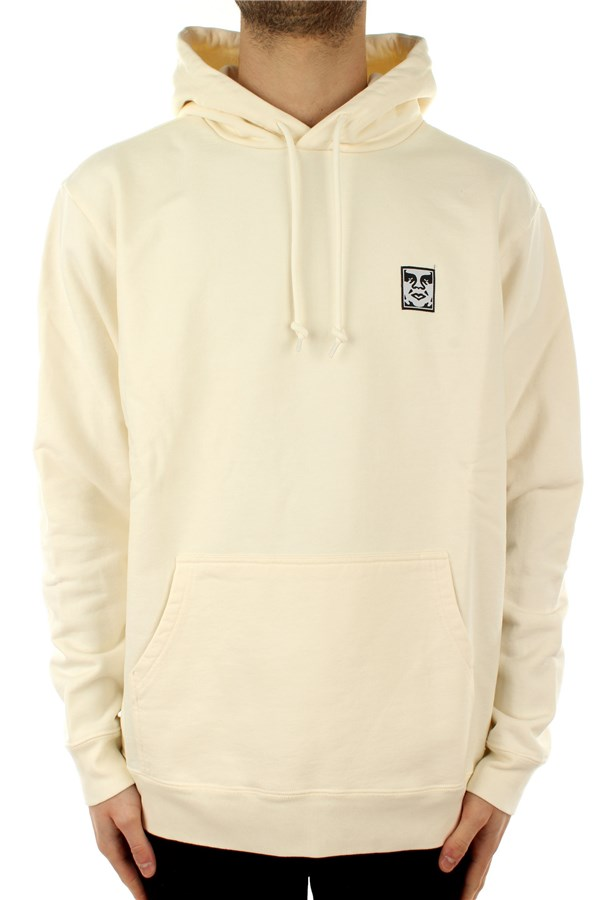 Obey Hooded Cream