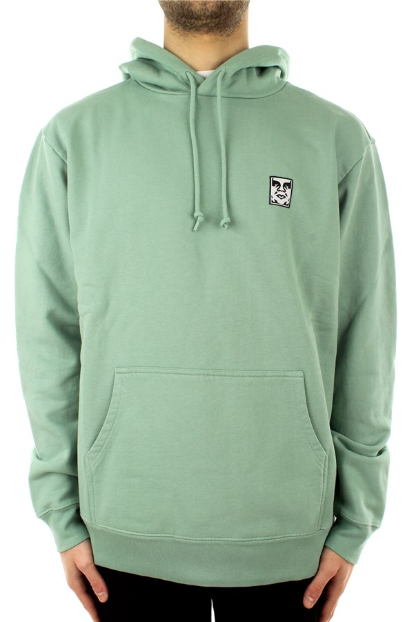 Obey Hooded Green