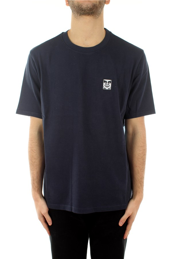Obey T-shirt Short sleeve 131030111 Dark Navy