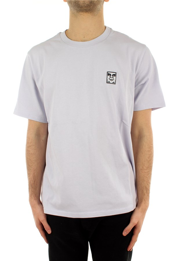 Obey Short sleeve Lilac