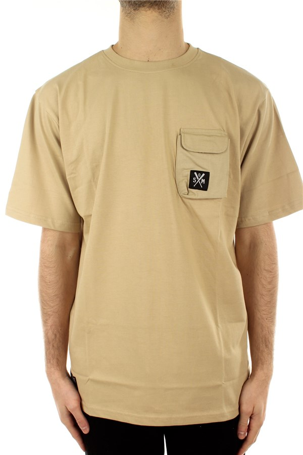 5tate Of Mind Short sleeve Beige