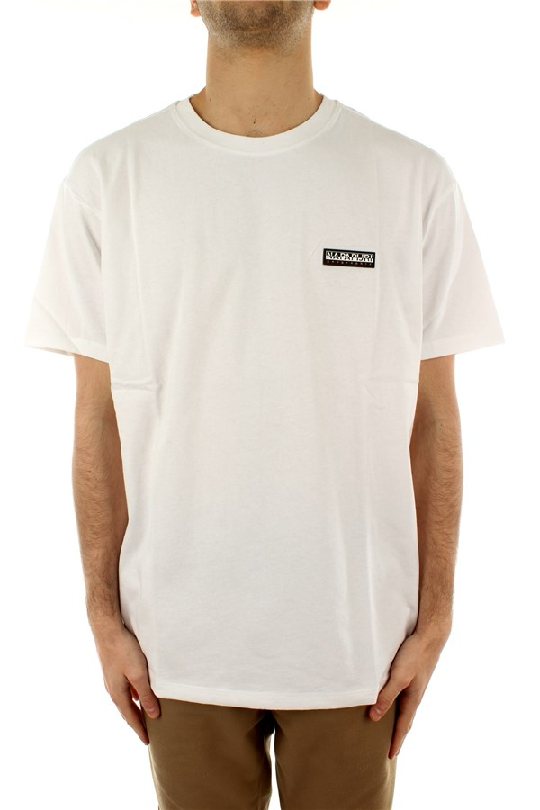 Napapijri Short sleeve Bright White 002
