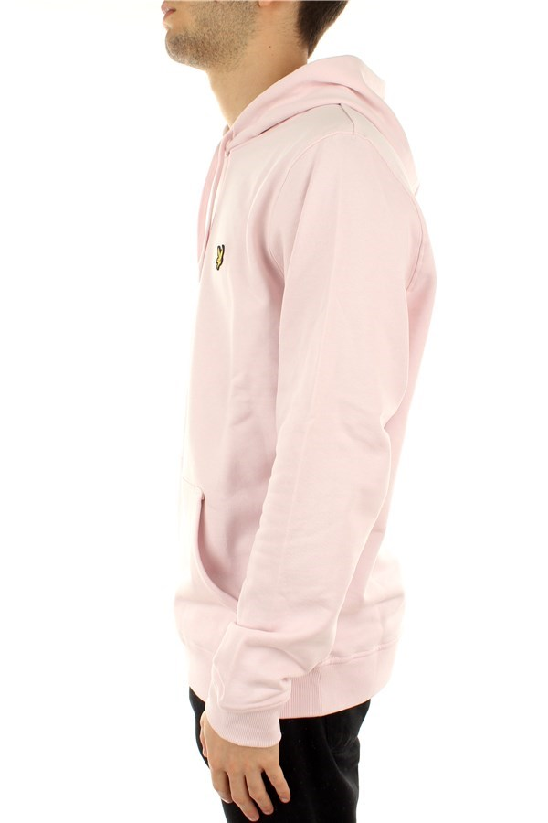 Lyle & Scott Hooded Stonewash Pink