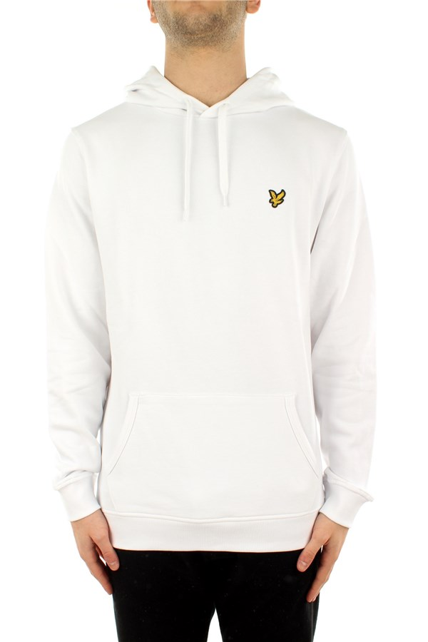 Lyle & Scott Hooded White