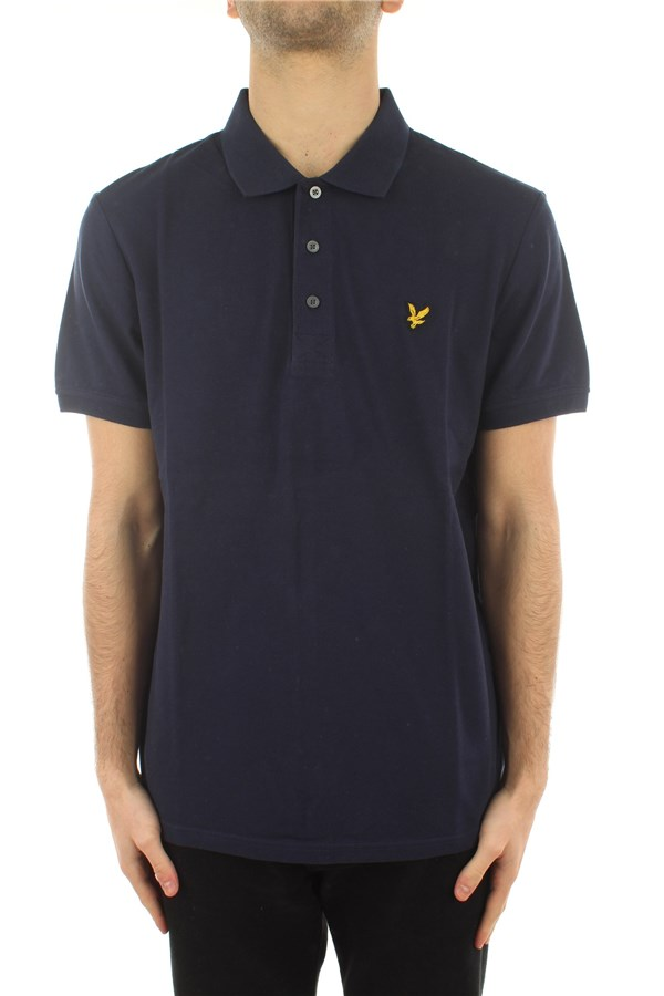 Lyle & Scott Short sleeves Navy