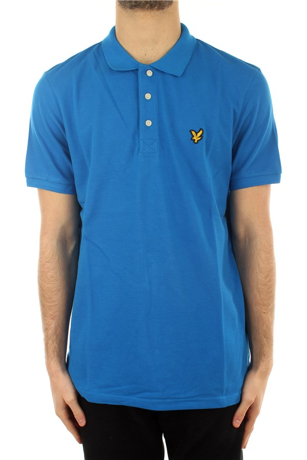 Lyle & Scott Polo shirt Short sleeves SP400VTR Bright Cobalt
