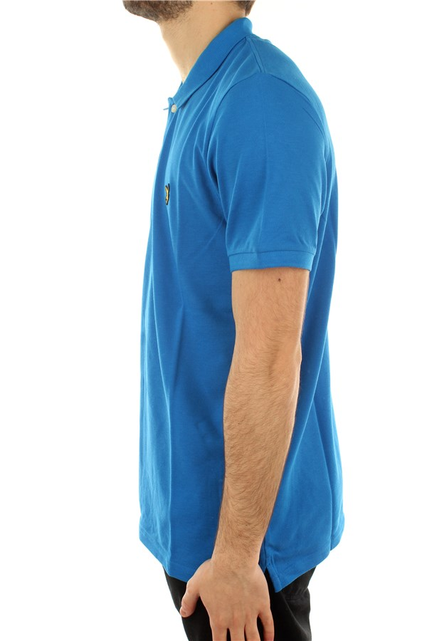 Lyle & Scott Short sleeves Bright Cobalt