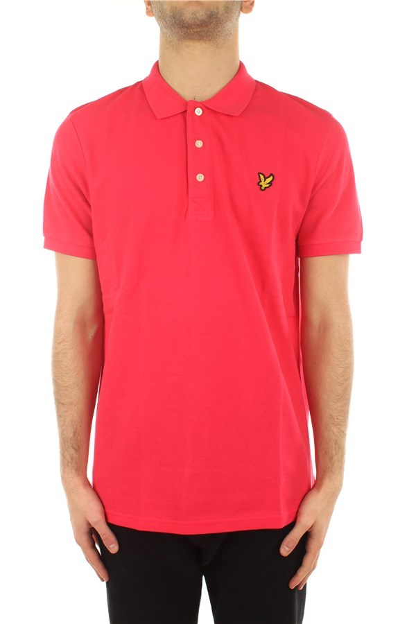 Lyle & Scott Polo shirt Short sleeves SP400VTR Geranium Pink