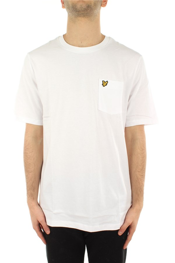 Lyle & Scott Short sleeve White