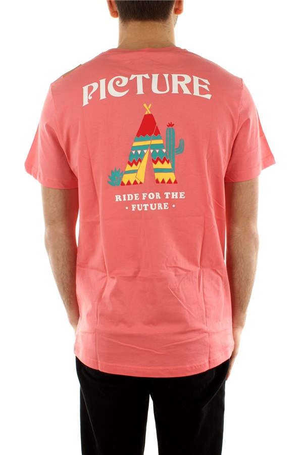 Picture Organic Clothing Short sleeve Sugar Pink