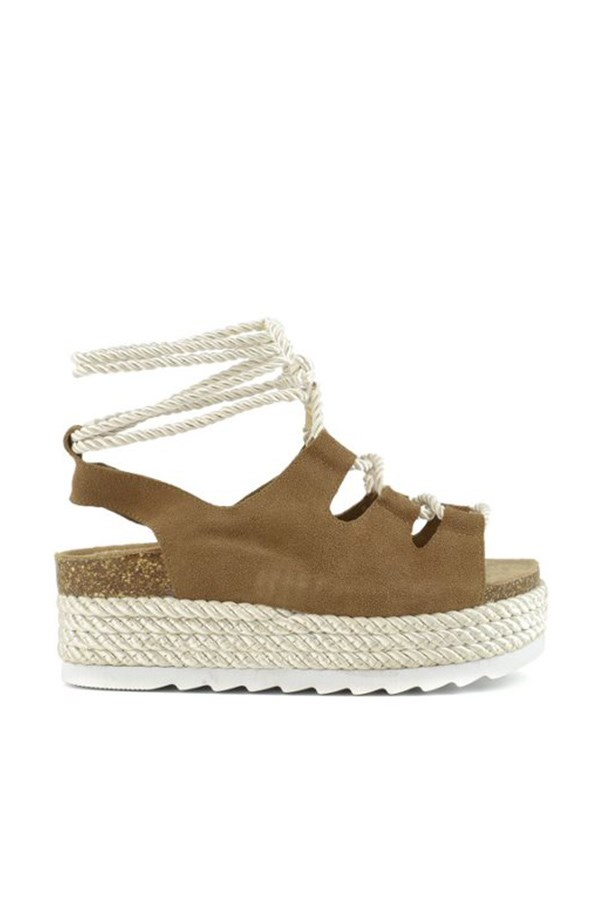 Colors Of California Sandals With wedge HC.BES047 Tan
