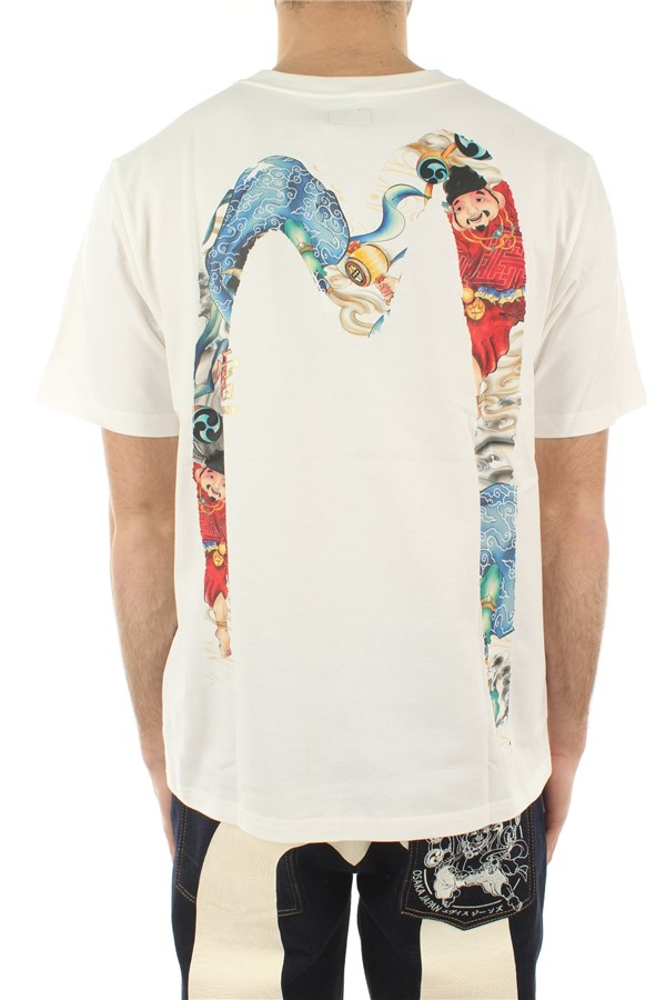 Evisu Short sleeve White