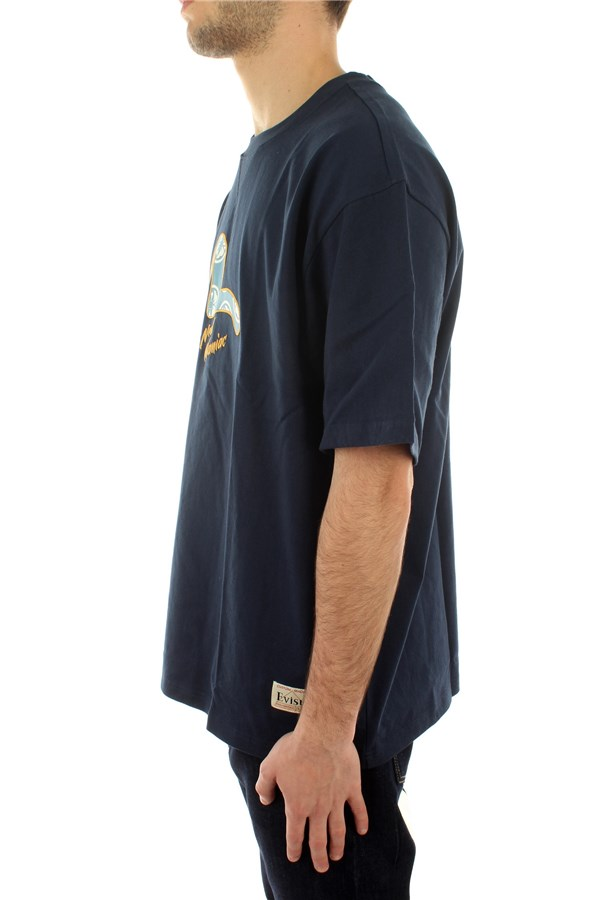 Evisu Short sleeve Navy