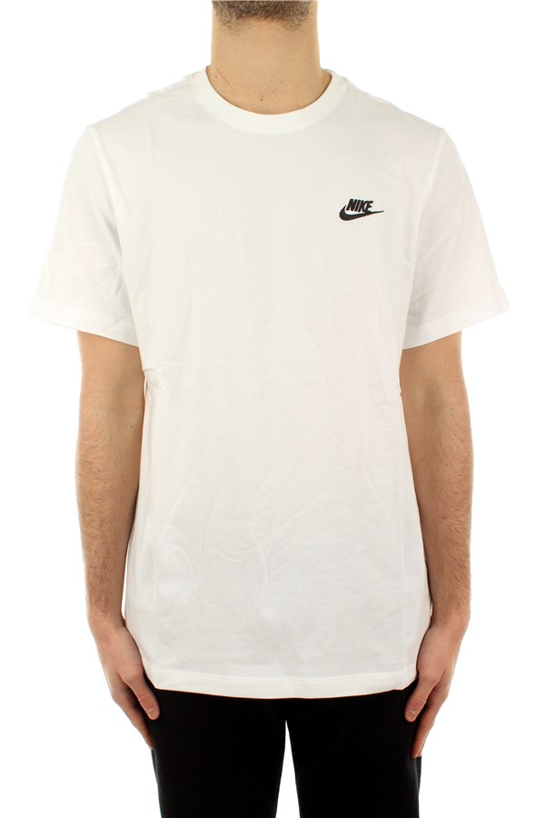 Nike Short sleeve White / black