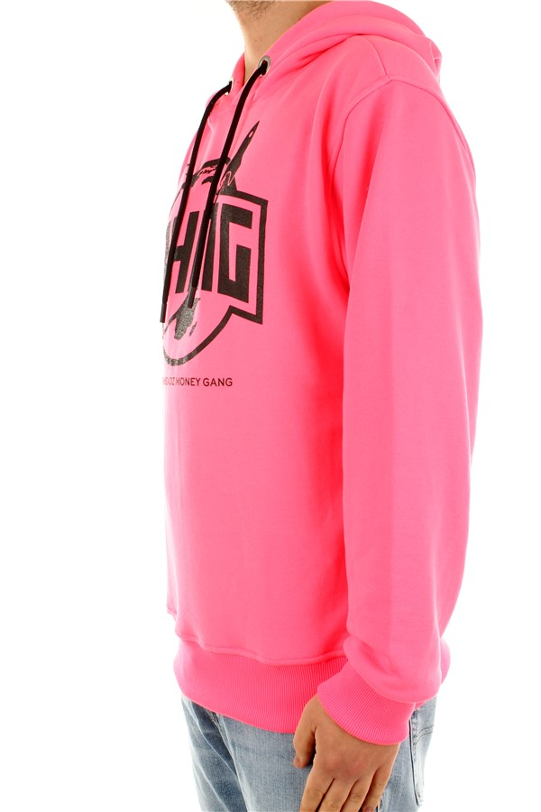 Bhmg Hooded Fluo fuchsia