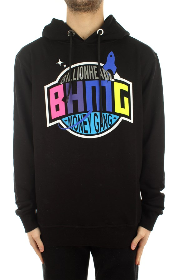 Bhmg Sweatshirts Hooded 029035 Black