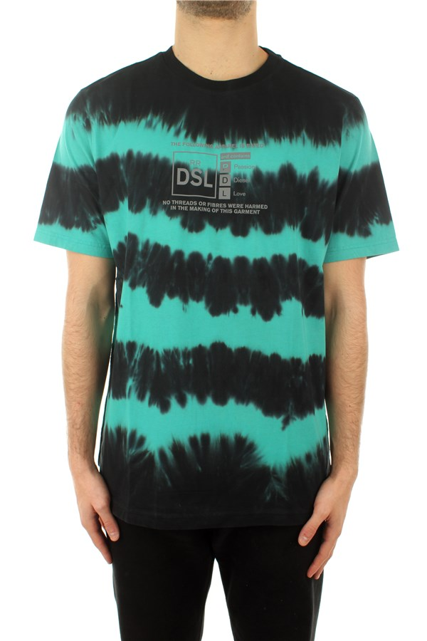 Diesel T-shirt Short sleeve Man A01857 0TBAB 5IIA 0