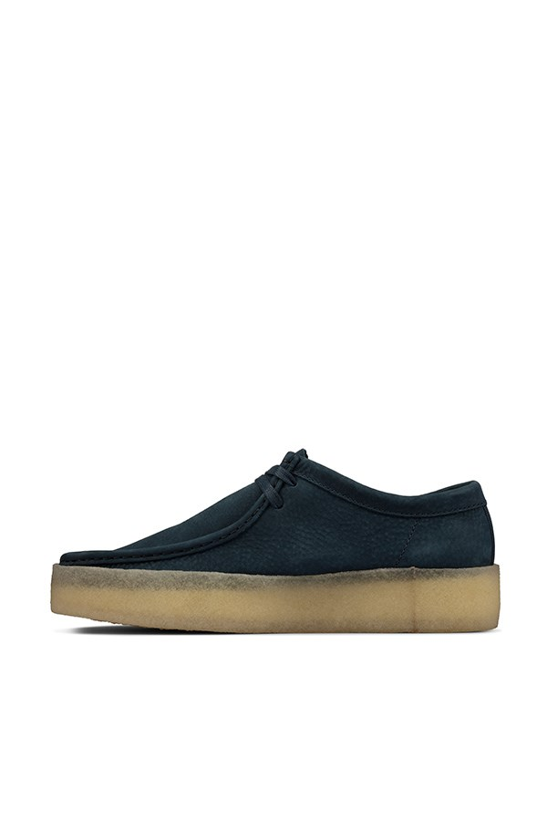 Clarks Loafers Blue Nubuck