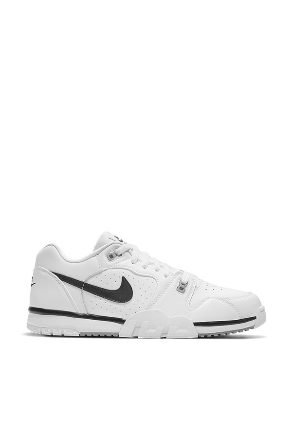 Nike low White / black-particle Gray