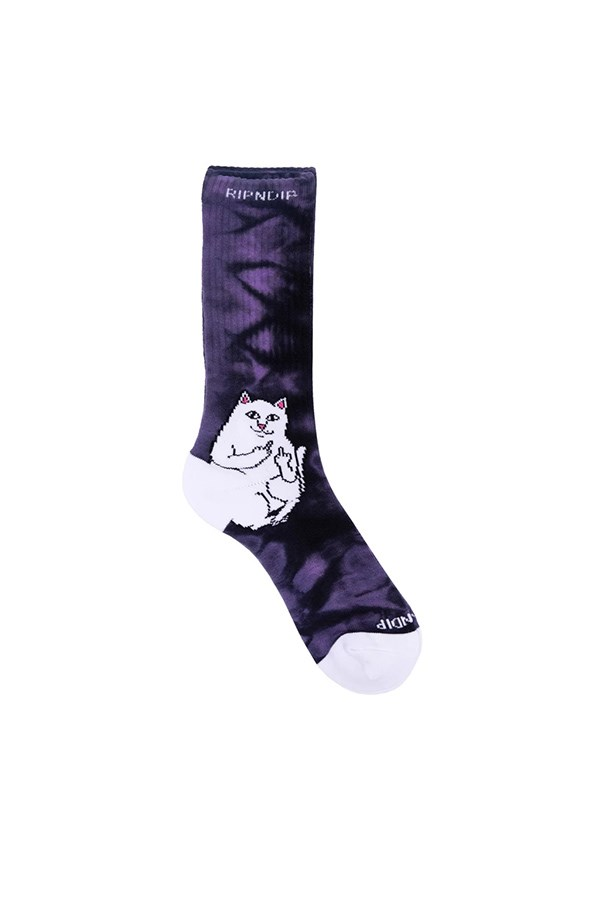 Ripndip Stockings Purple Lightning