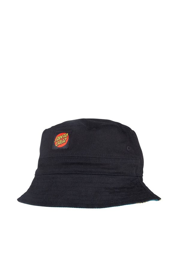 Santa Cruz Bucket Black / sunflower Print