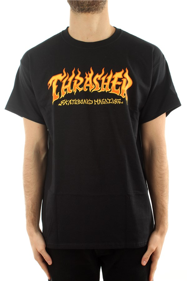 Thrasher Short sleeve Black