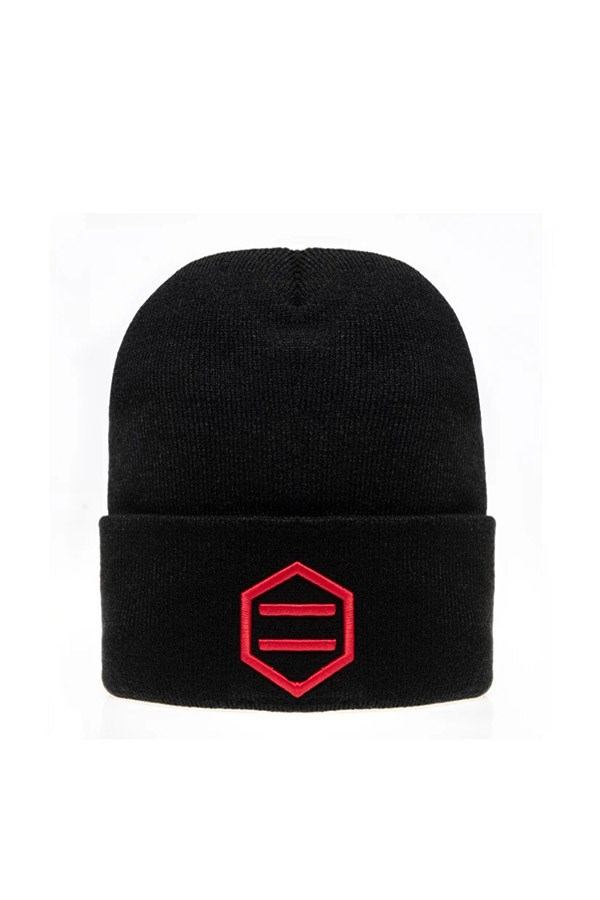 Dolly Noire Beanie Black / red