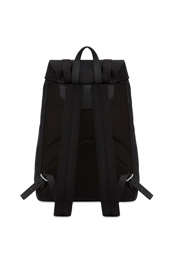 Moschino Backpacks Black