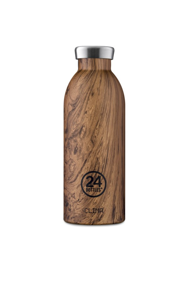 24 Bottles water bottles Bottles CLIMA BOTTLE 050 Wood Sequoia