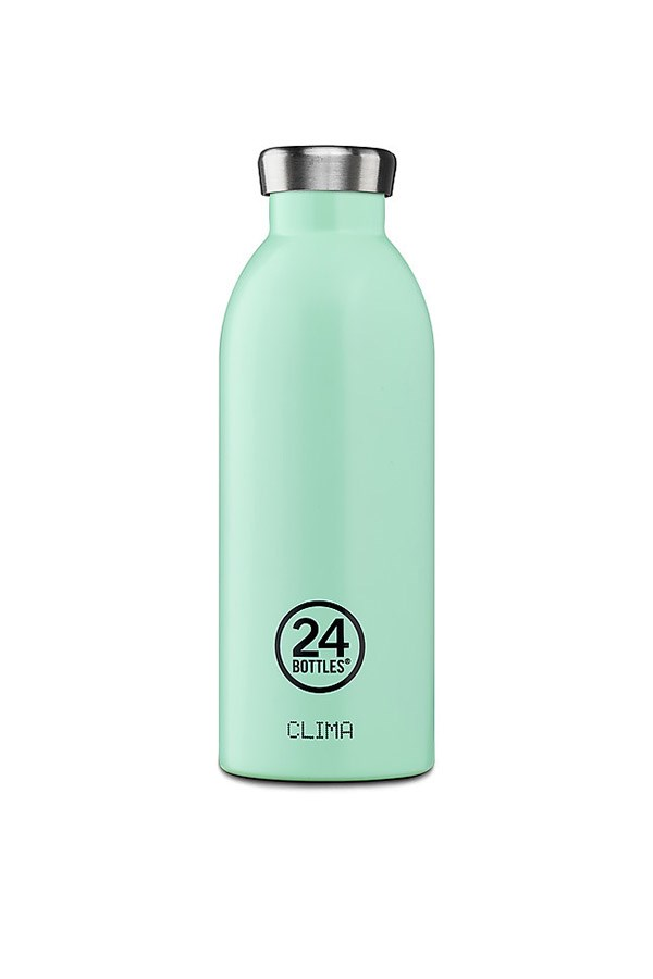 24 Bottles water bottles Bottles CLIMA BOTTLE 050 Aqua Green