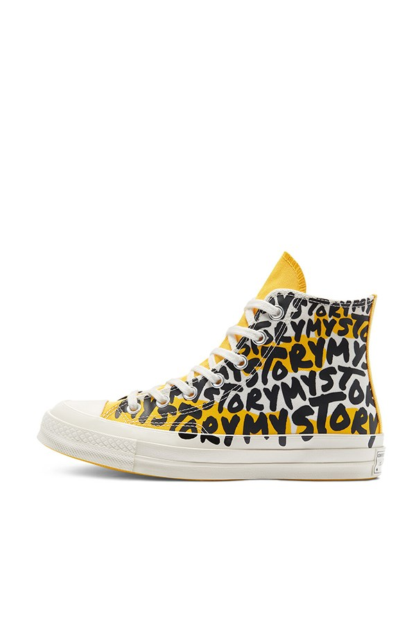 Converse high Egret / amarillo / black